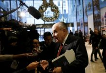 Giuliani sought to end prosecution of Turk in Iran sanctions case