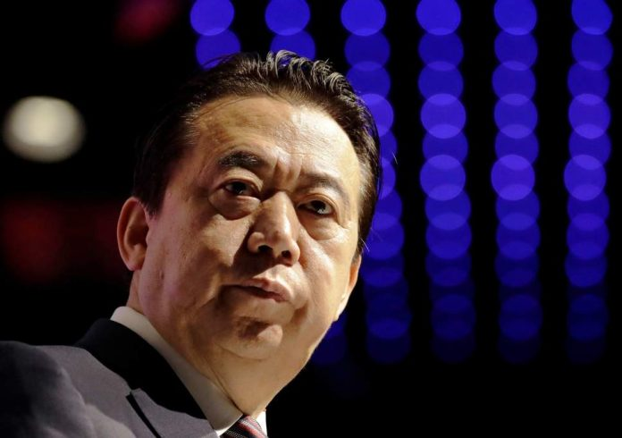 Interpol chief dead, wife fears, after capture by Chinese (Reports)