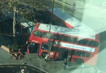 Croydon bus crash: Girl, 15, fighting for her life as 20 are injured