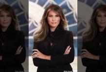 Melania Trump's official White House portrait revealed (Photo)