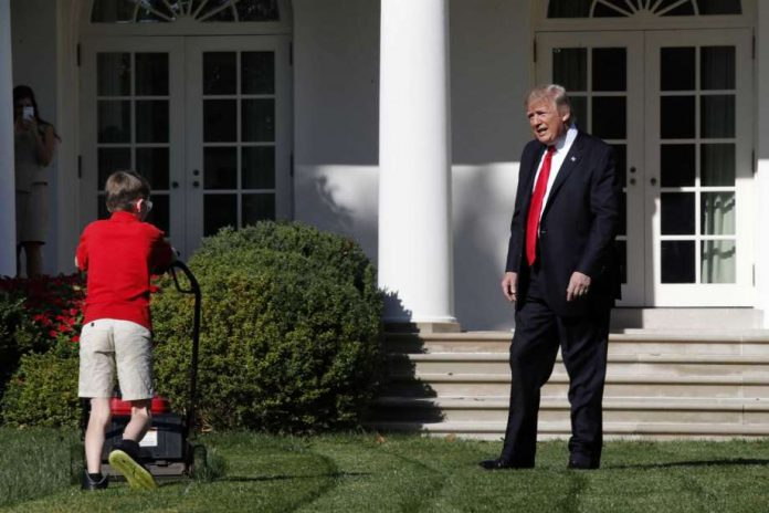 Frank Giaccio gets lawn-mowing gig at White House