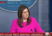 Watch: Sarah Huckabee Sanders responds to Red Hen controversy