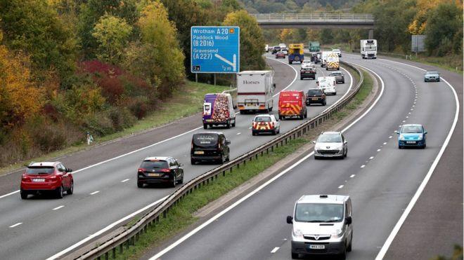 M26 shut for secret lorry park plans post Brexit