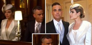 "Robbie Williams breaks rules by chewing gum in church ""Not good"""