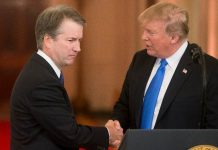 "Trump apologises to Kavanaugh for ""pain and suffering"""