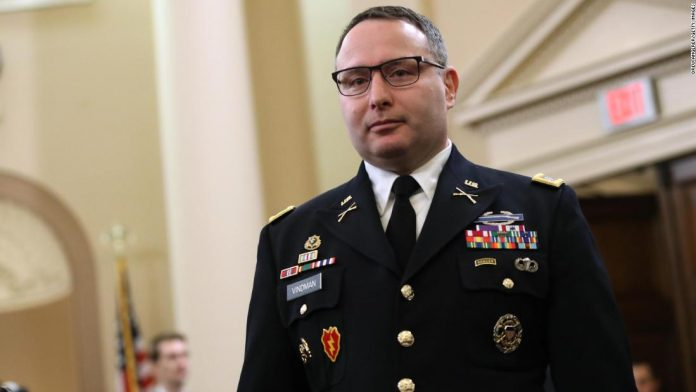 Vindman, key impeachment witness, to retire from military
