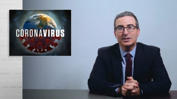 """'Last Week Tonight With John Oliver' Drags Donald Trump And Louie Gohmert's """"Reckless Indifference"""" Of Coronavirus"""