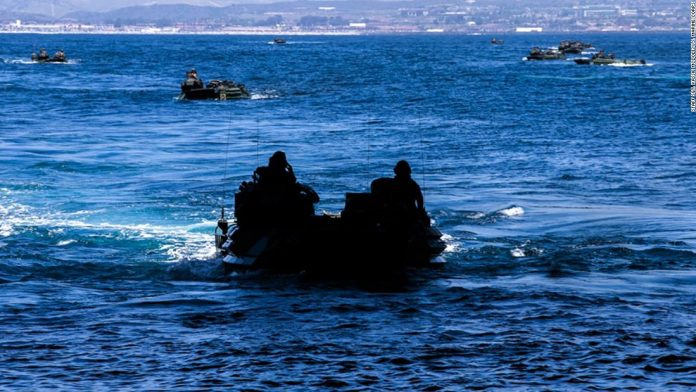 1 Marine dead and 8 others missing after amphibious vehicle accident