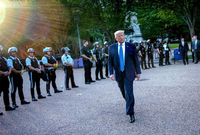 7 disturbing new revelations from a National Guard officer about Trump's Lafayette Square disaster