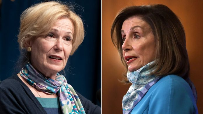 Birx defends herself as Pelosi accuses Trump administration of spreading disinformation on Covid-19