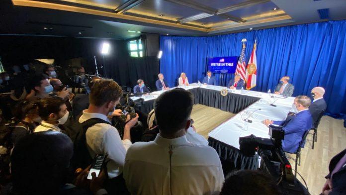 Correspondent Covering Donald Trump's Florida Trip Tests Positive For Coronavirus