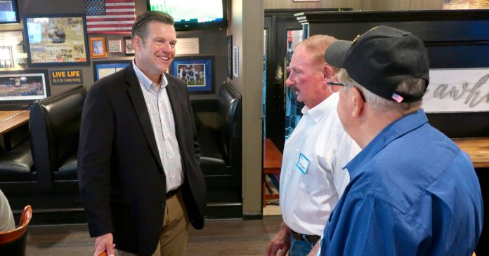 Kansas Senate Primary Has Arrived, and the Anxiety Over Kobach Is High