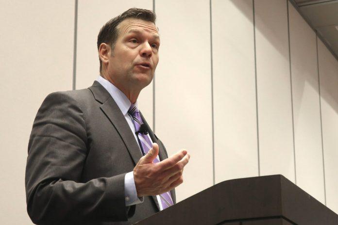 Kansas Senate race tests GOP leaders' power to block Kobach