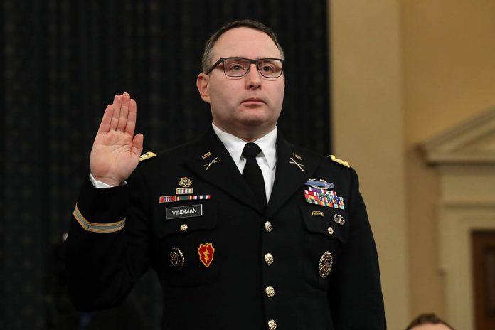 Key impeachment witness Vindman rebukes Trump on retirement from military