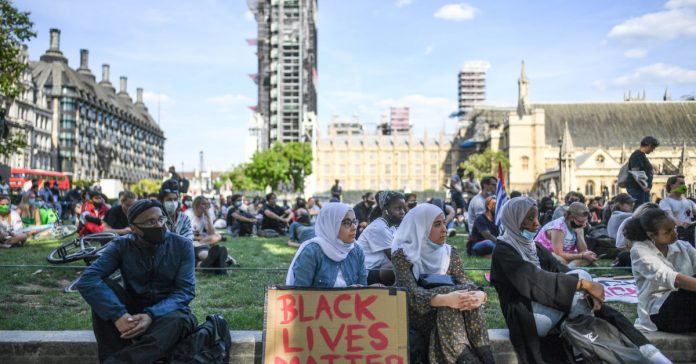 Majority of UK MPs engaged with Black Lives Matter movement