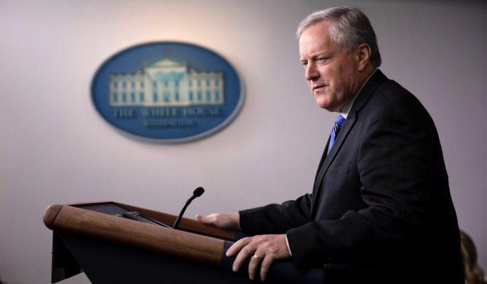 Meadows Pushes Trump to Address COVID Relief Through Executive Orders if Legislative Negotiation Falls Through