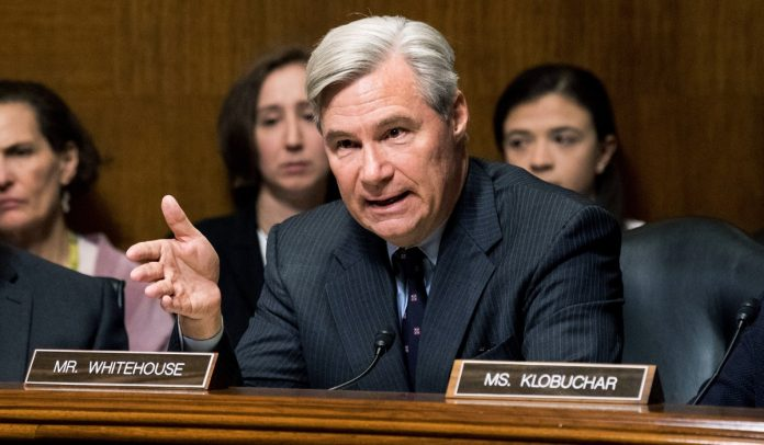 Sheldon Whitehouse, the Democrats' Conspiracy Theorist and Hatchet Man against the Rule of Law
