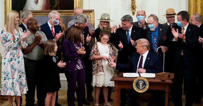 Trump Signs Landmark Land Conservation Bill