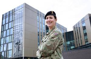 Reservist Helen Haigh