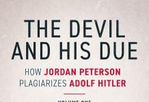 New book claims Jordan Peterson plagiarizes Adolf Hitler