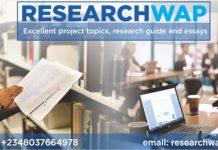 Project Topics And Materials For Students