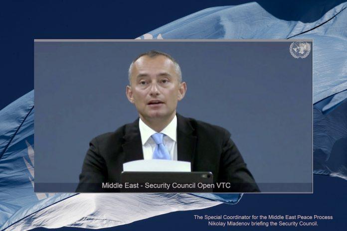 Special Coordinator Nikolai Mladenov (UN Photo)