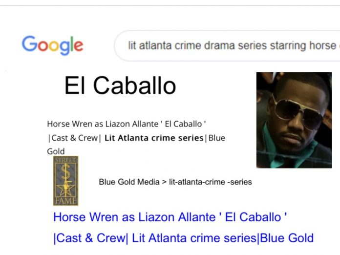 The First American version of a Narcotics Trafficking drama series filmed in in Atlanta