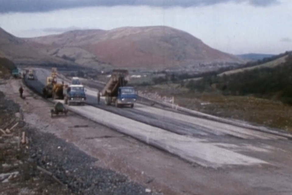 Carriageway starts to take shape