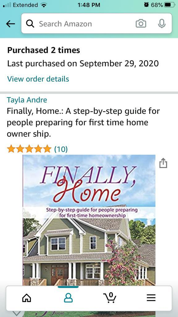 "Tayla Andre releases a new book ""Finally, Home"" for black first-time homebuyers"