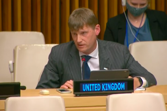 Ambassador Jonathan Allen at UNSC briefing on Syria