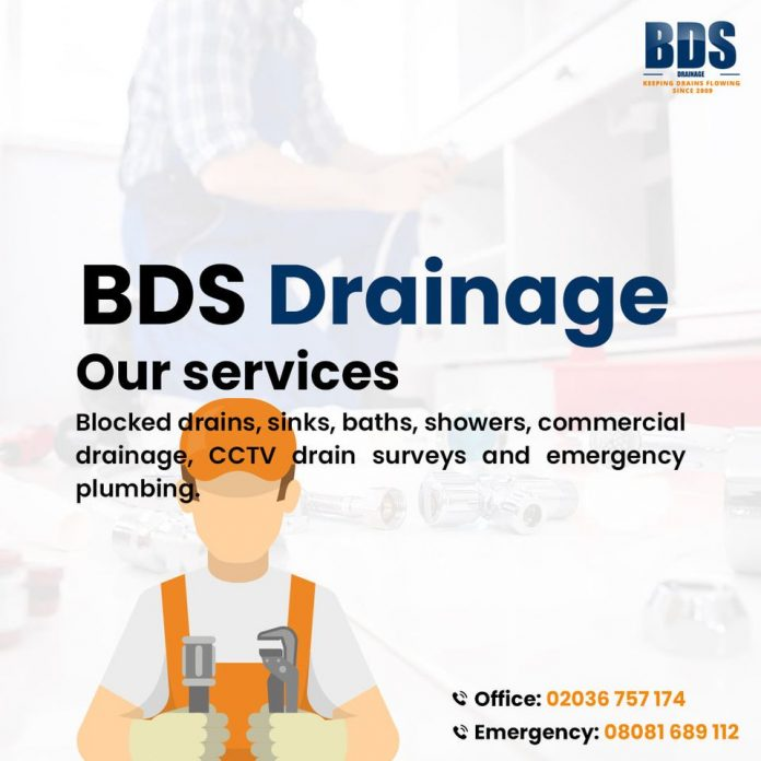 BDS Drainage to offer Free Camera Survey on every job