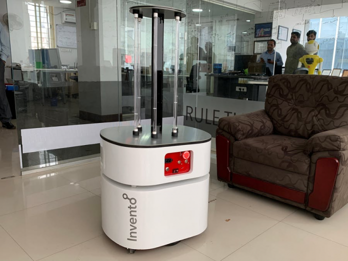 C-Astra Robot Destroys and Deactivates 99% of Viruses To Aid Cleaning Professionals