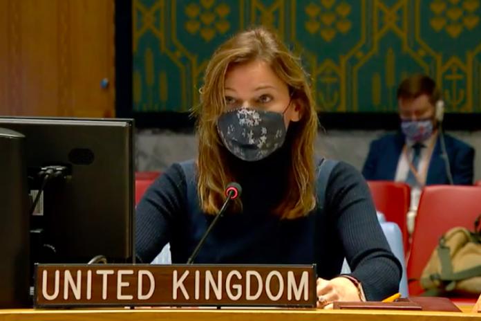 Alice Jacobs, UK Deputy Political Coordinator at the UN