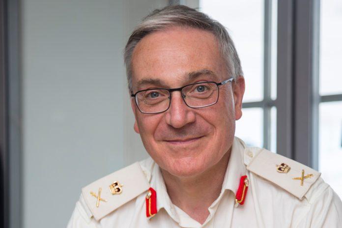 Lieutenant General Richard Nugee CVO CBE