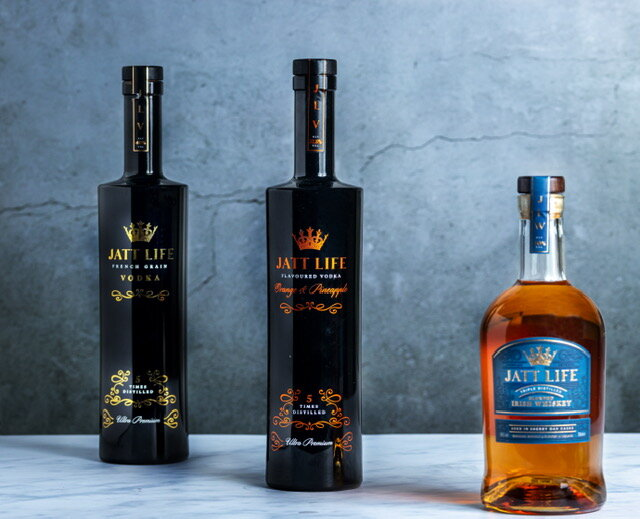 New UK spirits brand Jatt Life makes its mark with its ultra-premium orange and pineapple vodka