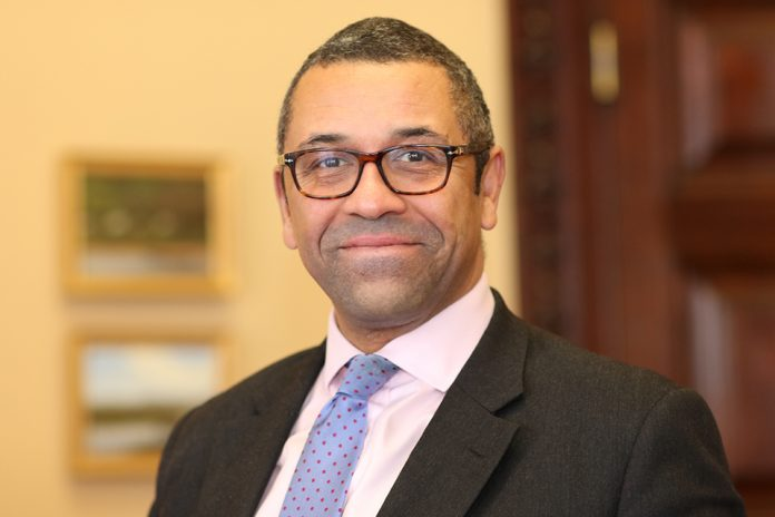 The Rt Hon James Cleverly MP