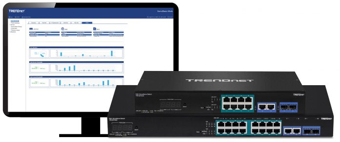 TRENDnet Introduces World's First ONVIF Conformant Smart Surveillance Switches