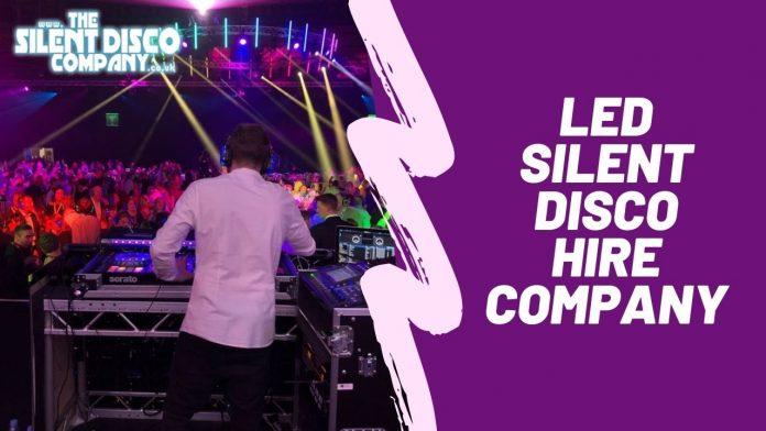 UK's Leading LED Silent Disco Hire Company