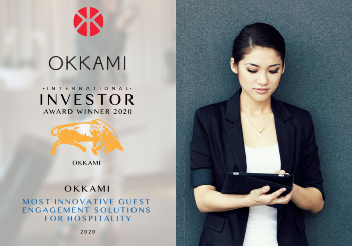 OKKAMI Wins Most Innovative Guest Engagement Solutions for Hospitality