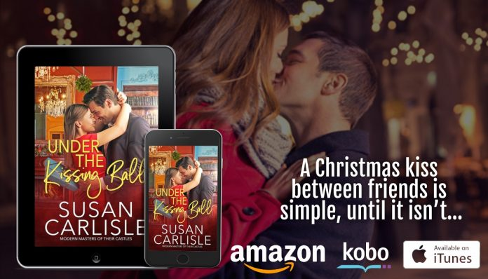 Author Susan Carlisle Releases New Holiday Romance – Under The Kissing Ball