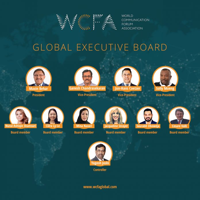 Expanded Global Executive Board for the World Communication Forum Association