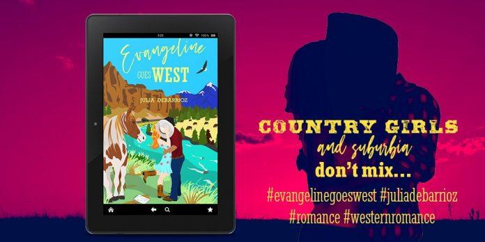 Julia DeBarrioz Releases New Western Romance – Evangeline Goes West