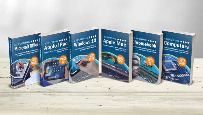 """New Series of Books """"Makes Computers Easy"""" – through Easy to Follow Guides, Video Demos, and Illustrations for the Everyday User"""