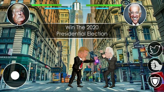 Nonpartisan mobile game U.S. Political Fighting: feel the political struggle on your mobile phone