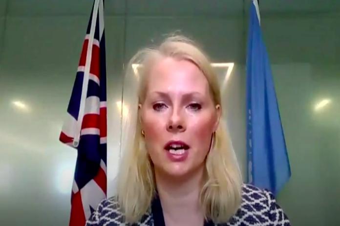 Sonia Farrey, UK Political Coordinator the UN