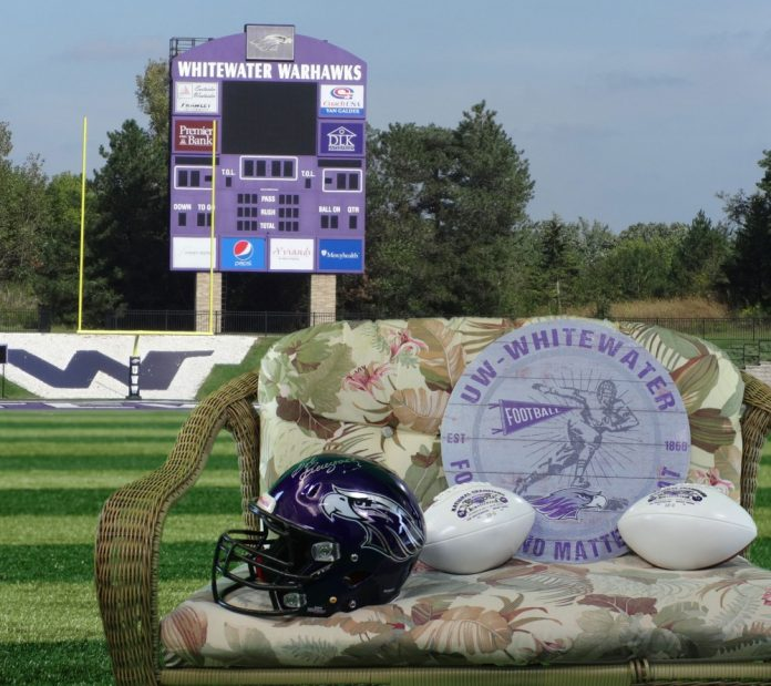 UW-Whitewater Football Team Donates To Holiday Auction For Brain Injury Survivor