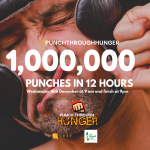 Punch Through Hunger - UK Martial Artists unite to raise money for foodbanks 2