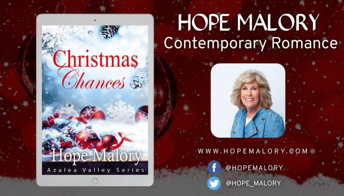 Author Hope Malory Releases New Holiday Romance – Christmas Chances