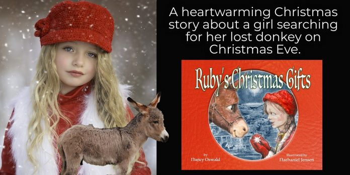 Author Nancy Oswald Promotes Her Holiday Children's Book – Ruby's Christmas Gifts