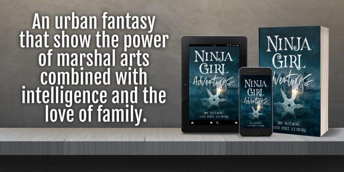 Authors MG Wilson and Phil Elmore Release New YA Fantasy – Ninja Girl Adventures